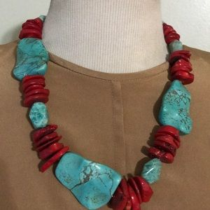 Jewelry - NATURAL TURQUOISE NECKLACE